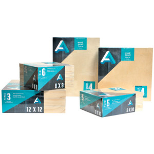 aa wood cradled boards value packs