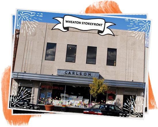 Wheaton Art Storefront