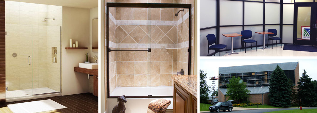 carlson glass and mirror shower doors